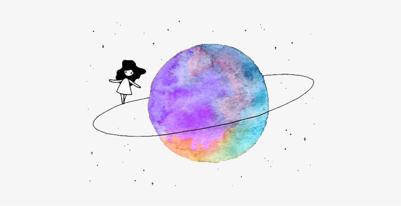 Dibujos Con Acuarelas Tumblr Faciles Png Image Transparent Png