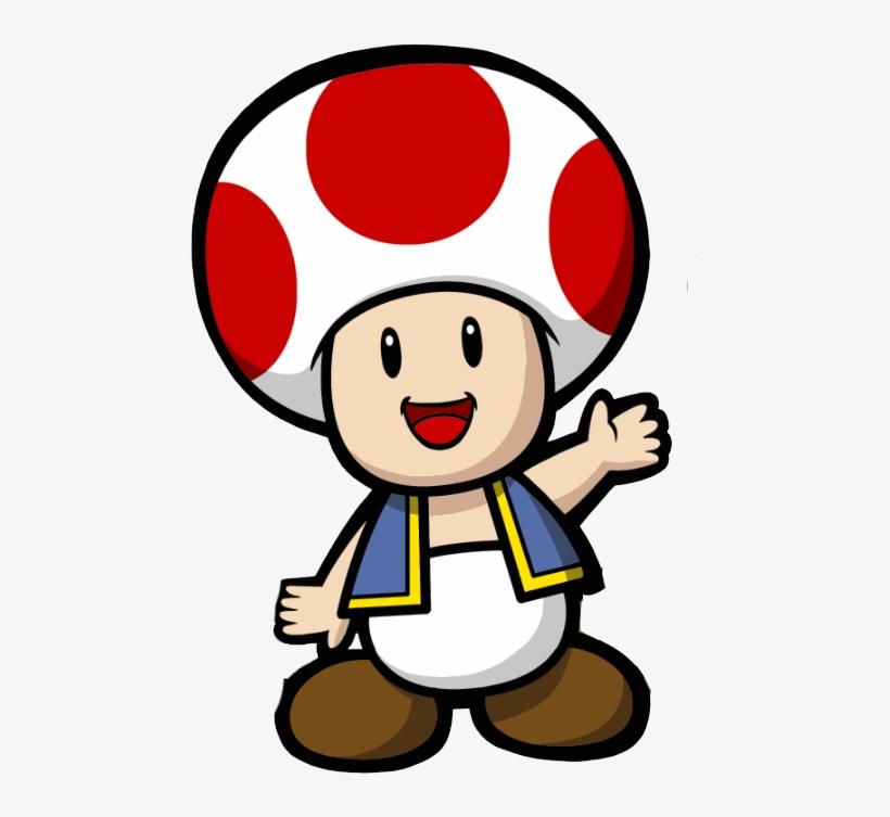 Mushroom Clipart Mario Toad Super Mario Kart Toad Png Image