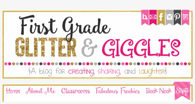 graphic relating to Jitter Glitter Poem Printable called Initial Quality Glitter And Giggles - Variety PNG Graphic