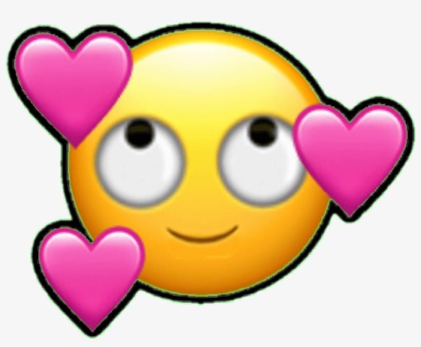 Emoji Emoticono Emoticon Cara Enamorado Corazon Corazon Fall In