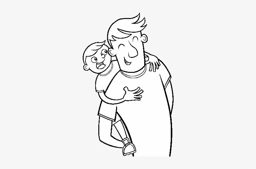 Dibujo De Día Del Padre Para Colorear Feliz Dia Del Padre Dibujos