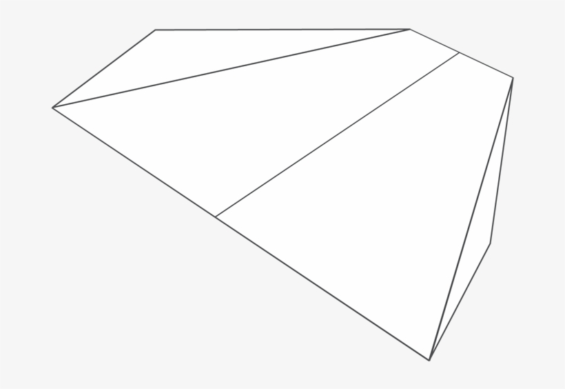 Plane Number Delta Wing Paper Airplane Png Image Transparent
