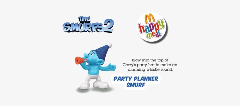 Webrep Smurfs 2 Mcdonalds Toys Vexy Png Image Transparent Png Free Download On Seekpng