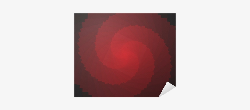 Abstract Red 3d Rotation Shape Spiral Png Image