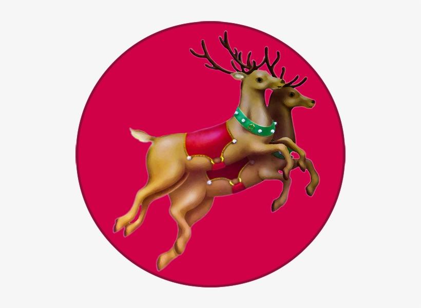 Reindeer Clipart Clock Clip Art Png Image Transparent Png Free Download On Seekpng
