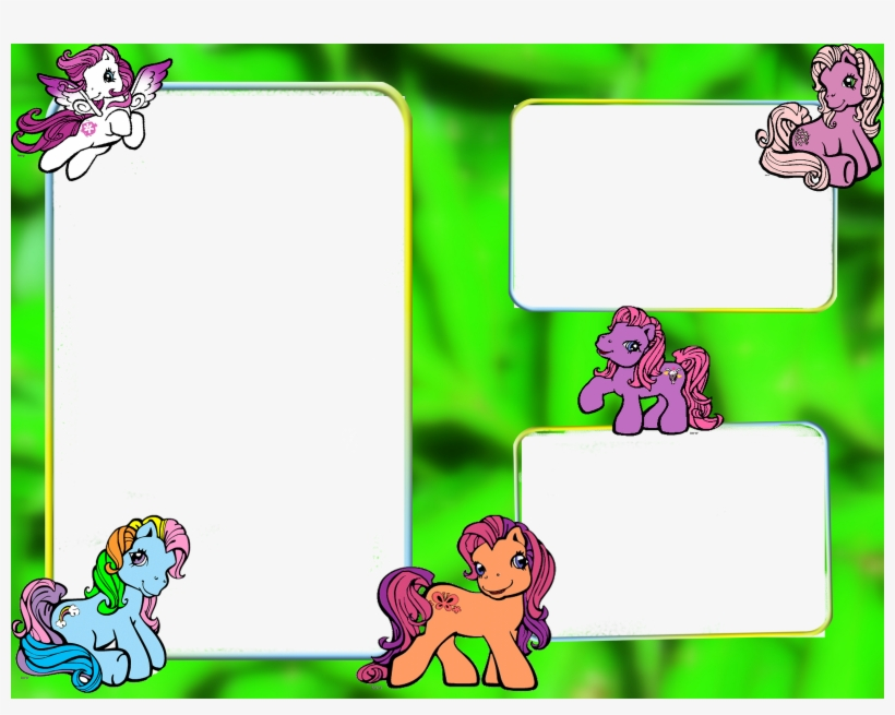 Frames Png My My Little Pony Clip Art Png Image Transparent Png