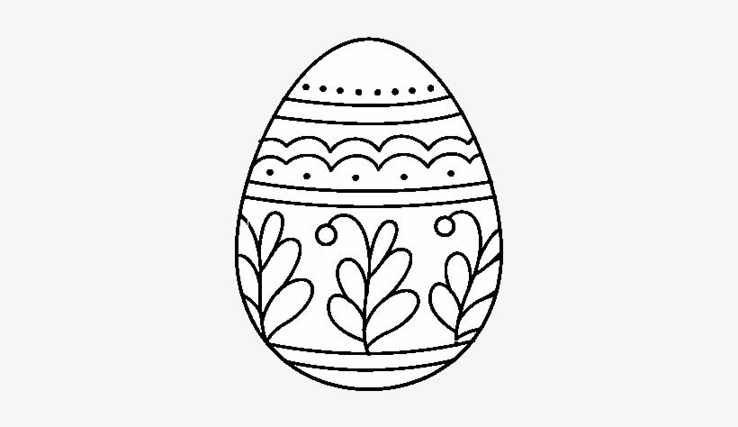 Dibujo De Huevo De Pascua Mandala Para Colorear Mandalas Faciles