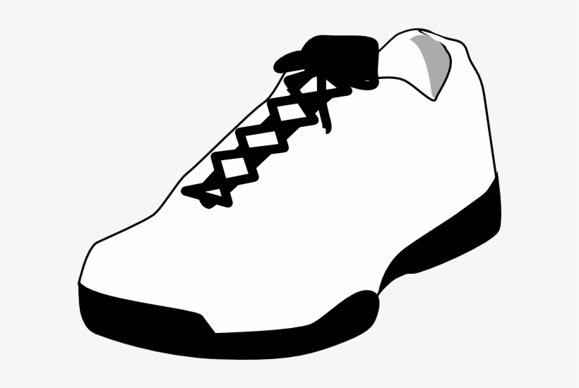 a051d2dd217d Shoe Clipart Basketball Shoe - Closed Toed Shoes Clip Art PNG Image ...