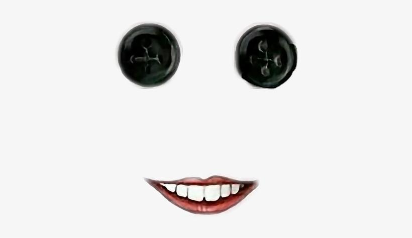 Creepy Coraline Button Eyesandmouth Filter Lolfreetoedi Coraline Png Image Transparent Png Free Download On Seekpng