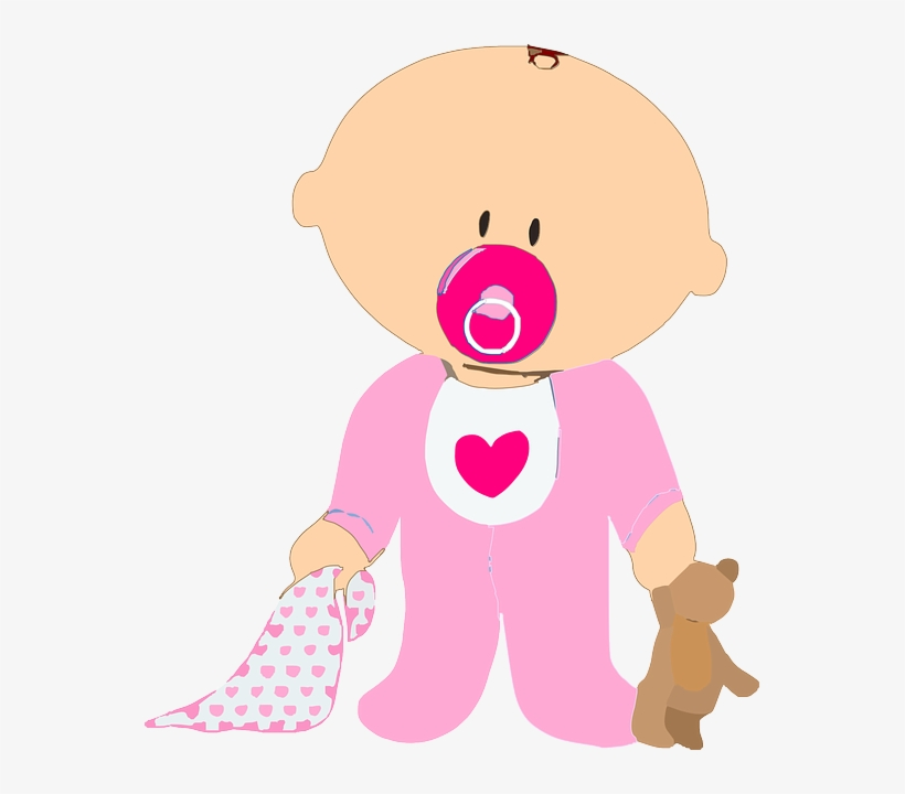 Bebes Desenhos Png Baby With Pacifier Clipart Png Image