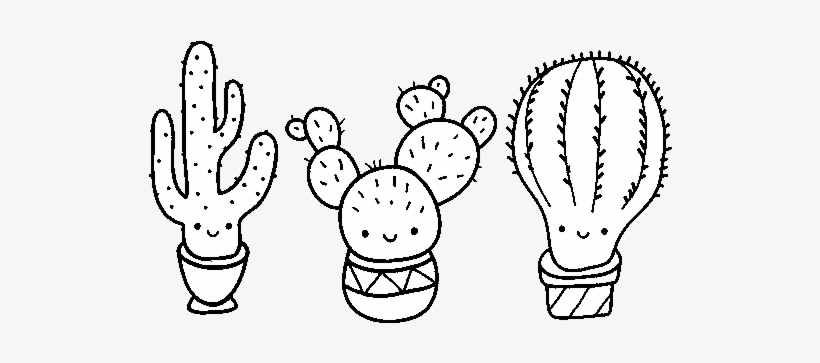 photo regarding Free Printable Cactus Coloring Pages referred to as 3 Mini Cactus Coloring Website page - Lovable Cactus Coloring Internet pages PNG