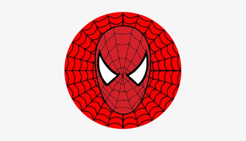 Adesivo Vingadores Homem Aranha 3 Cm Redondo Spiderman Web
