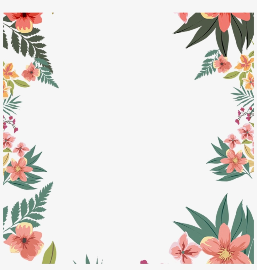 Border Png Picture Floral Border For Word Documents Png Image