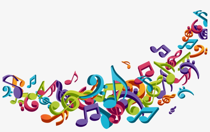 The Sound Of Music - Musical Note PNG Image | Transparent