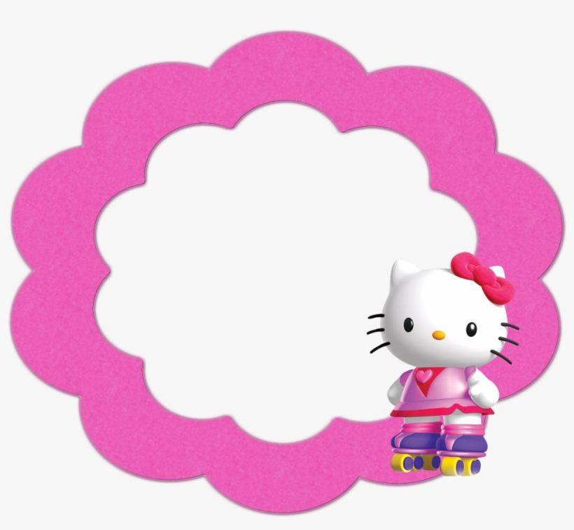 Buttons Labels And Toppers Hello Kitty Head Frame Png Image Transparent Png Free Download On Seekpng