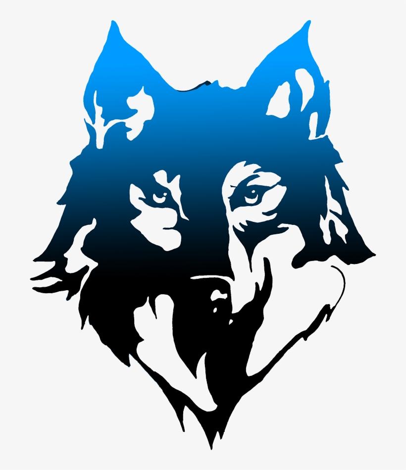 Blue Wolf Png Wolf Logo Design Png Png Image Transparent Png Free Download On Seekpng