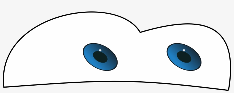 Clipart Car Eyes - Lightning Mcqueen Eyes Printable PNG Image Transparent  PNG Free Download On SeekPNG