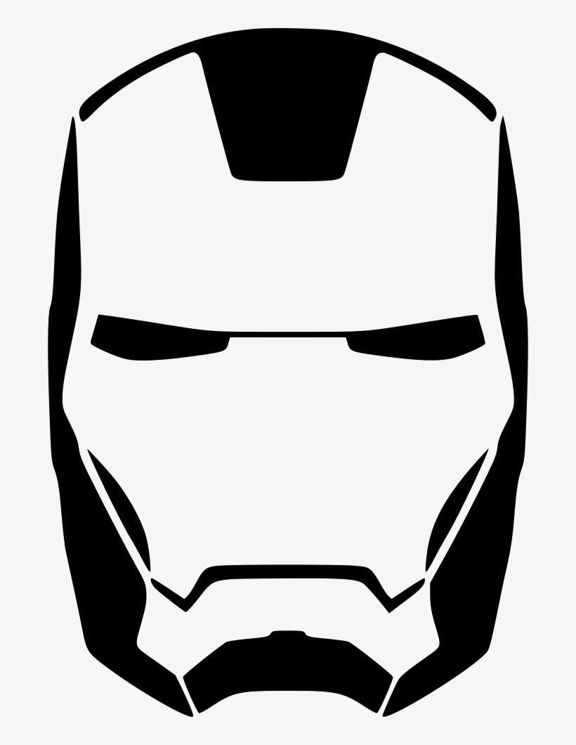 Iron Man Skin Face Comments   Iron Man Mask Clipart PNG Image ...