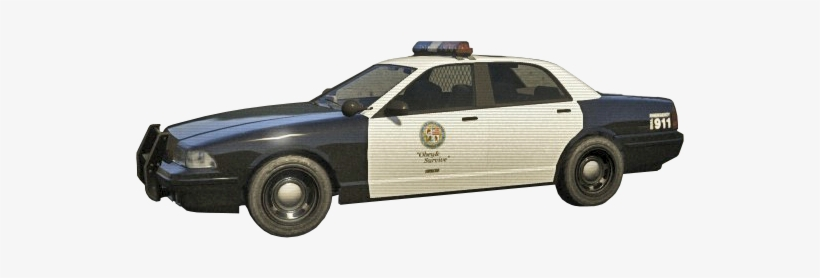 Gta 5 Police Car Png - Police Car Transparent Background PNG Image