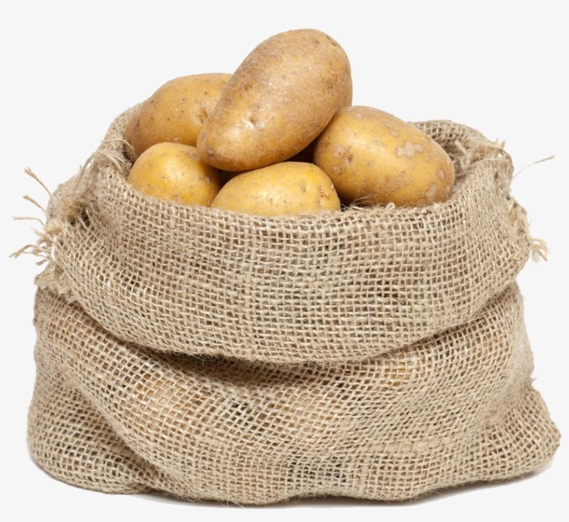 Mashed Potato Bag Gunny Sack Clip Art - Bag Of Potatoes Clipart PNG Image | Transparent PNG Free Download on SeekPNG