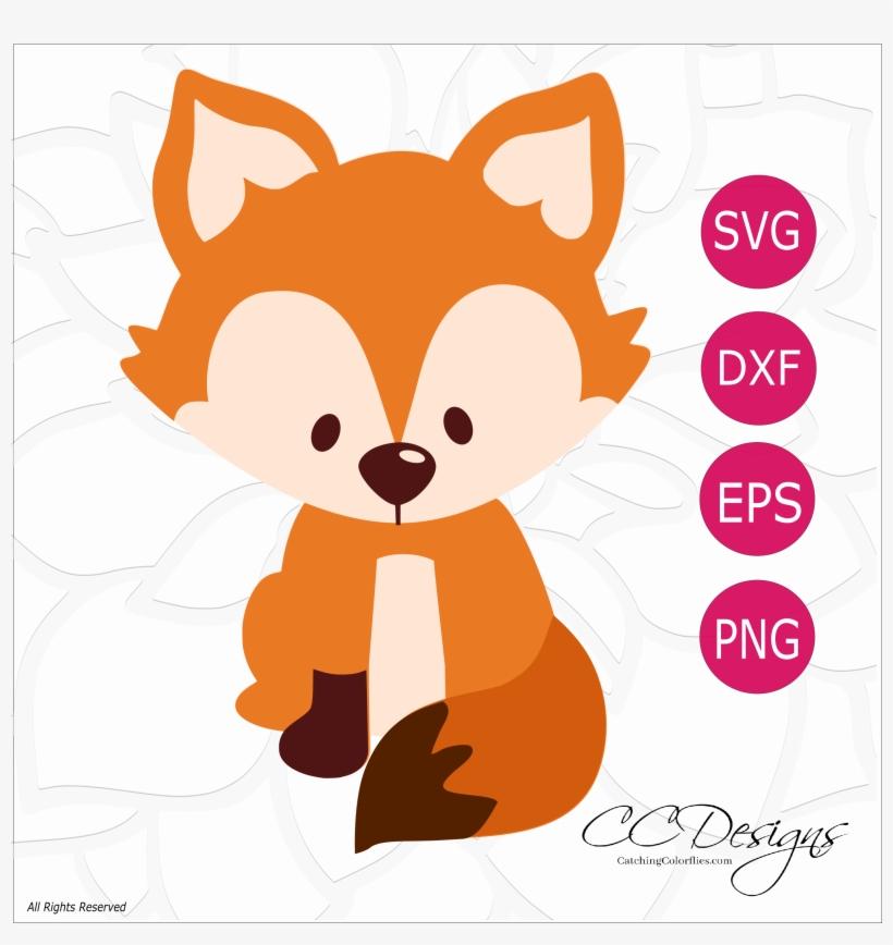 Fox woodland. Free svg cut file
