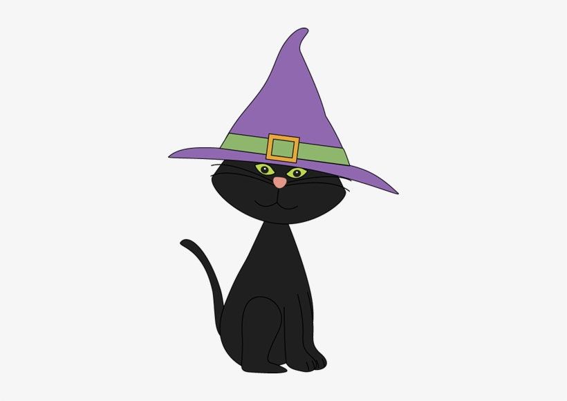 Graveyard Clipart Cute Halloween Cat Clipart Halloween Black Cat Png Image Transparent Png Free Download On Seekpng