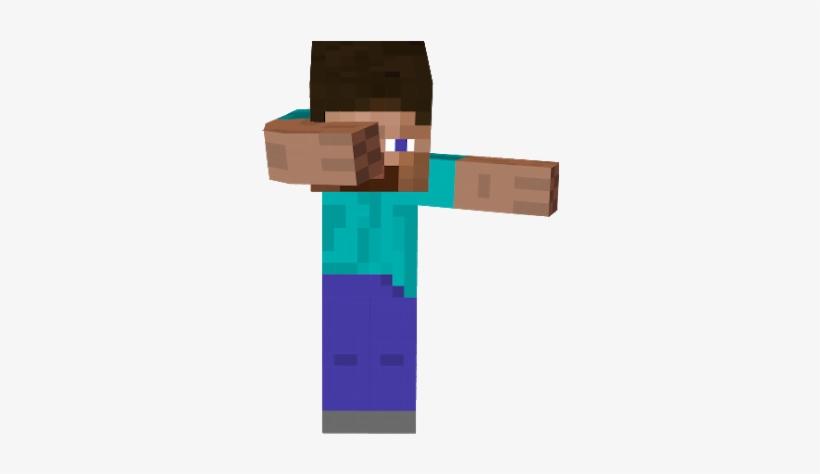 Steve Transparent Dabbing Minecraft Steve Dabbing Png Image Transparent Png Free Download On Seekpng
