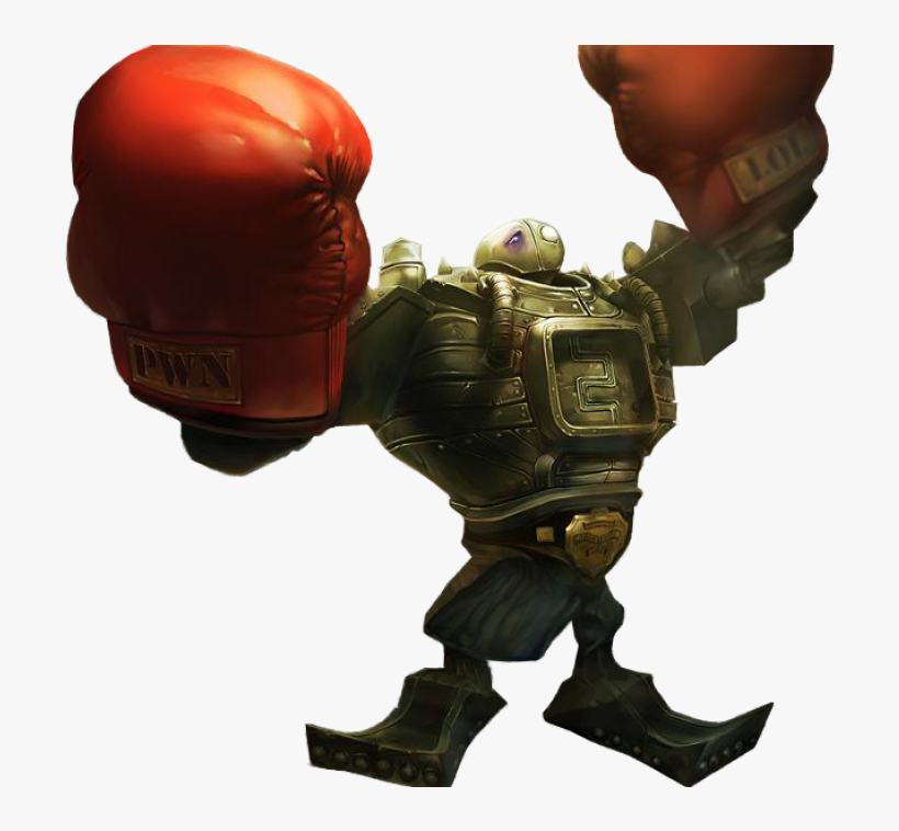 Boom Boom Blitzcrank Png Image - League Of Legends