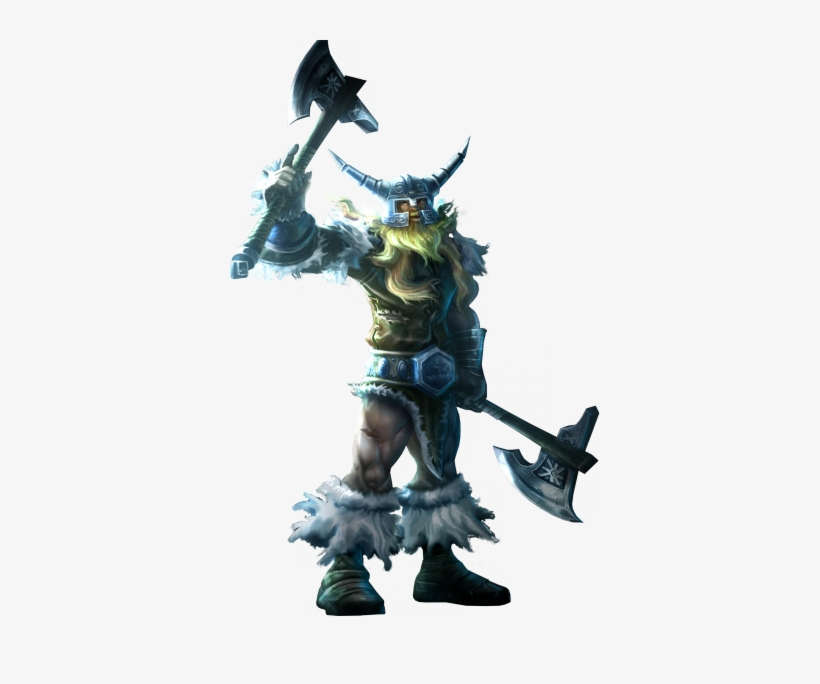 Classic Olaf Skin Old Lol Png Image - League Of Legends Olaf Png@seekpng.com