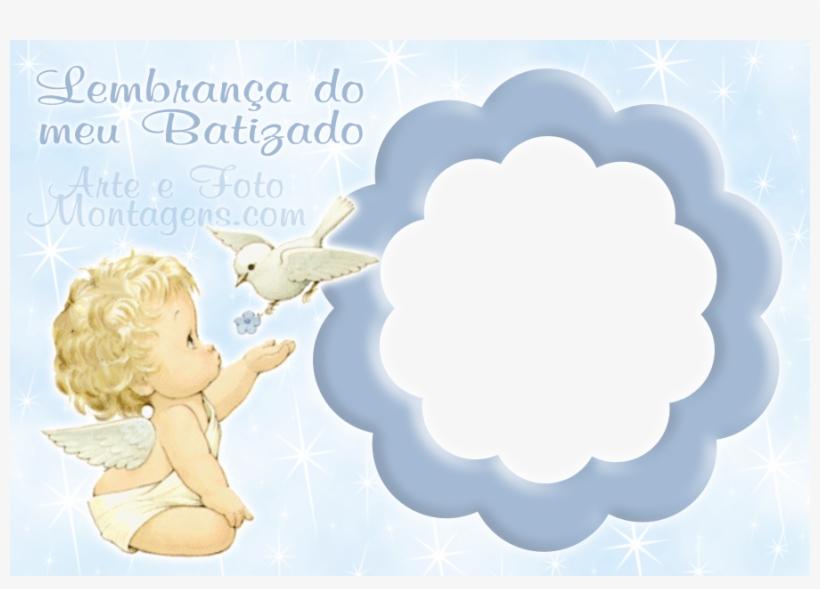 Batizado Anjinho Anjo Papel De Arroz De Batizado Png Image