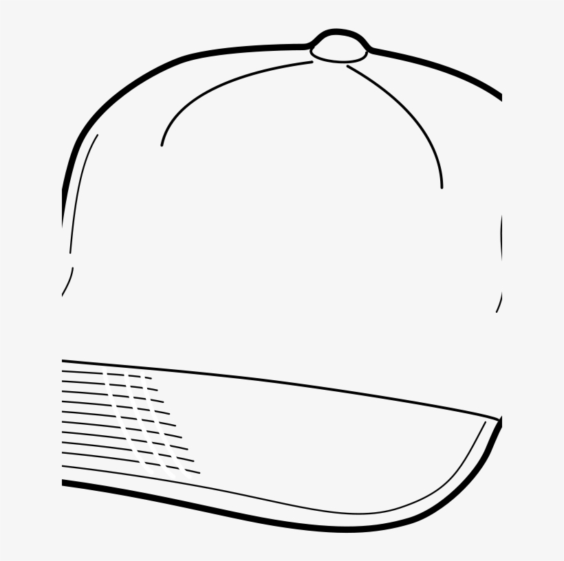 Baseball Cap coloring page | Free Printable Coloring Pages | 816x820