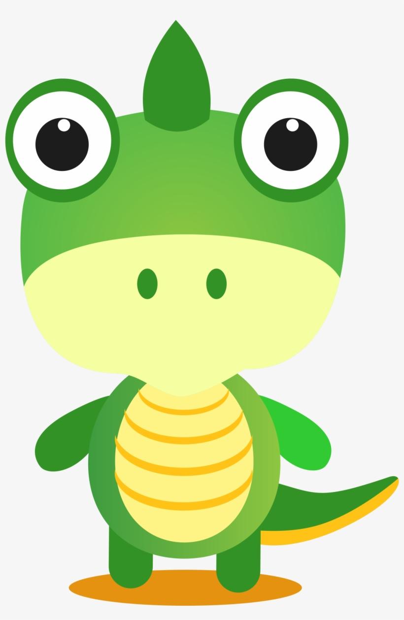 Dinosaur Cartoon Drawing Clip Art Drawing Of Green Dinosaur Png Image Transparent Png Free Download On Seekpng