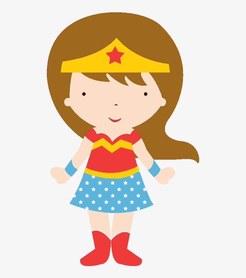 Star Pinata Clipart - Mujer Maravilla En Caricatura PNG Image ... f0ab2e1ba6d