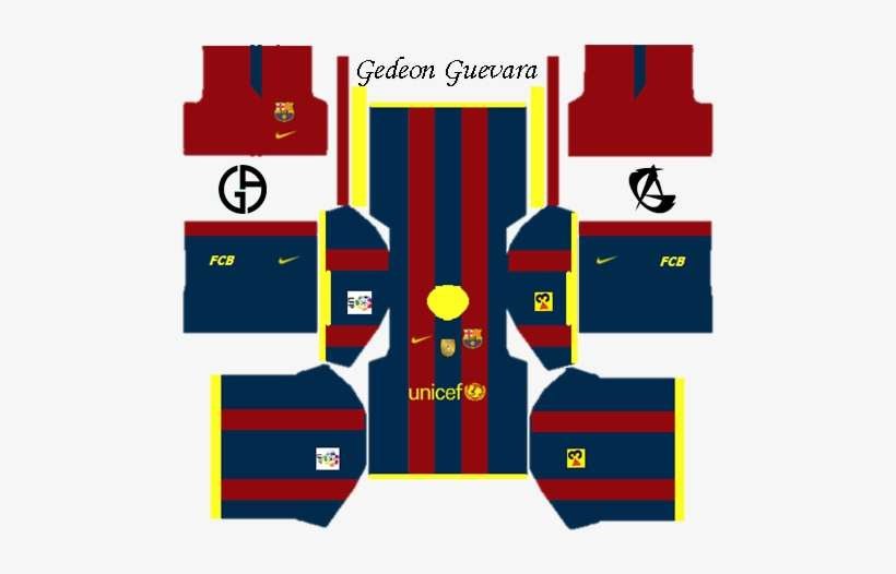 promo code 1ff91 d1265 Barcelona Kits 2010/11 - Dream League Soccer Kit Gk ...
