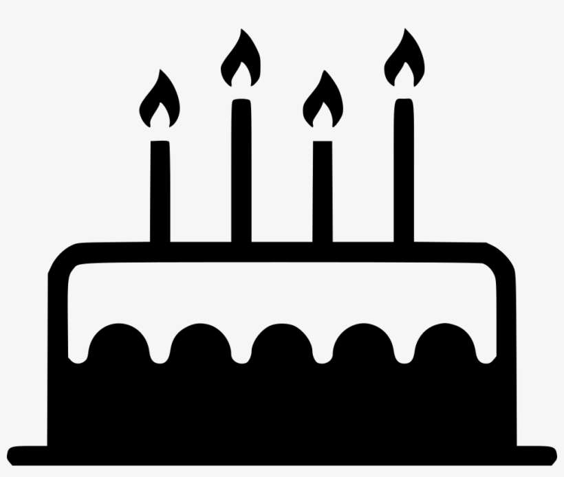 Birthday Cake Candle Sweet Dessert Comments Birthday Cake Png Icon