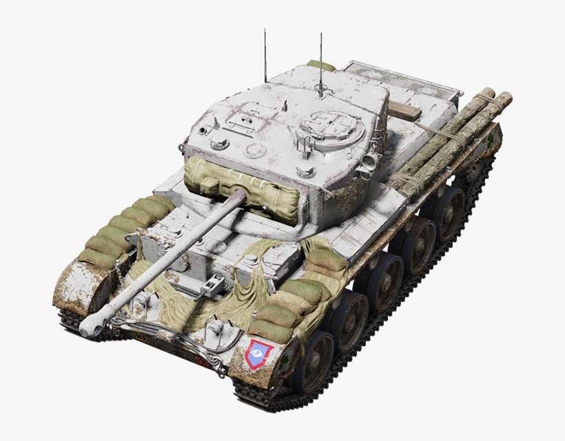 Banshee Comet - World Of Tanks Chieftain T95 PNG Image