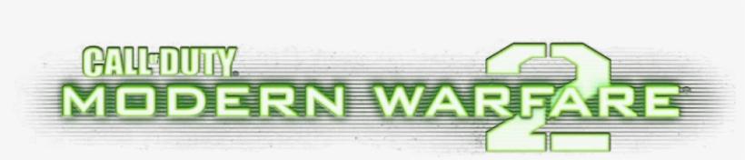 Mw2logo Call Of Duty Modern Warfare 2 Logo Png Png Image