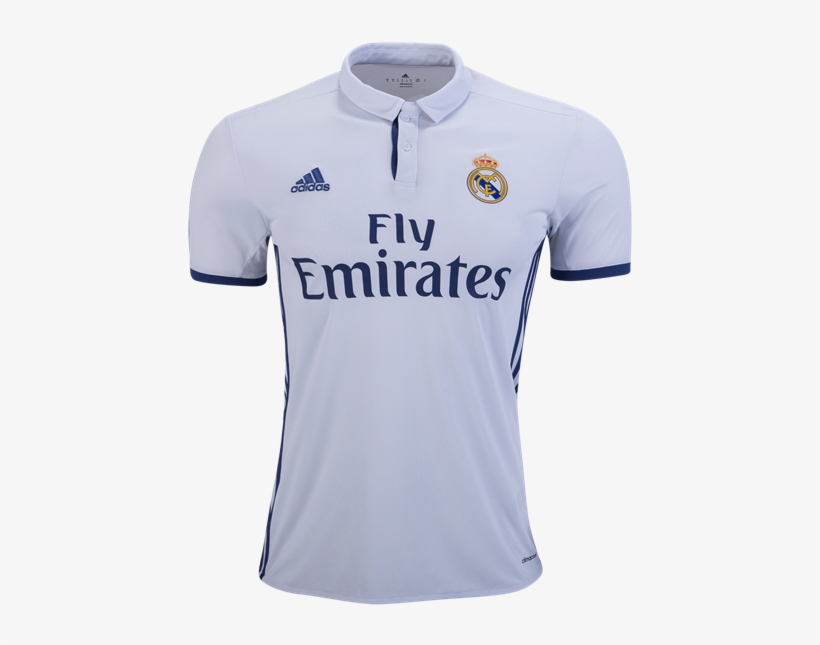 205faac217c Real Madrid Top - Real Madrid 16 17 Home Kit PNG Image | Transparent ...