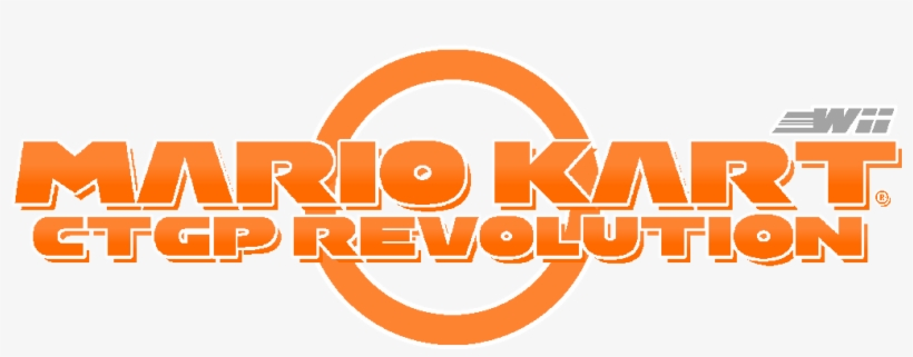 Image Mario Kart Wii Ctgp Revolution Logo Png Image