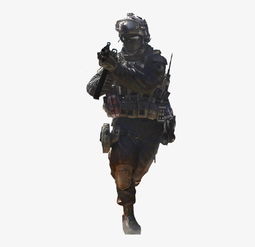 Shadow Company Soldier From Mw2 Call Of Duty Modern Warfare 2