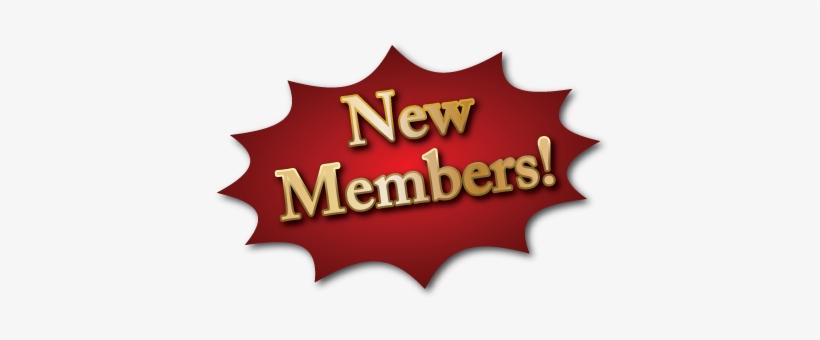 New Members - New Member PNG Image   Transparent PNG Free Download on SeekPNG