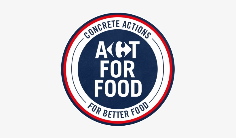 Act For Food By Carrefour Carrefour Act For Food Png Image