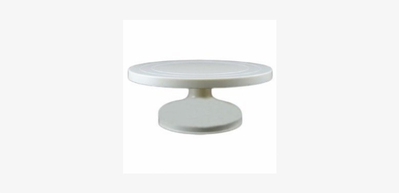 White Standard Cake Display Turntable Coffee Table Png Image Transparent Png Free Download On Seekpng
