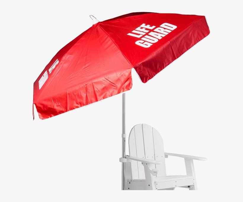 Recreonics Lifeguard Umbrella Lifeguard Chair With Umbrella Png