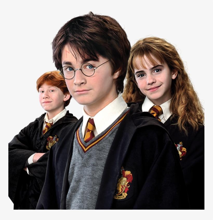 Harry Potter Ron Weasley Hermione Granger Group Harry