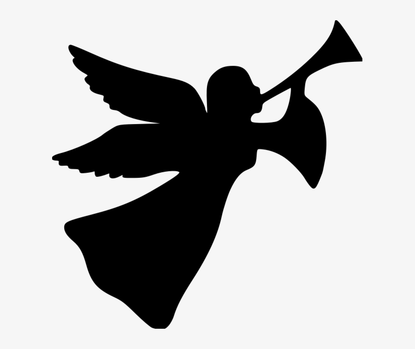 Силуэт ангела в картинках
