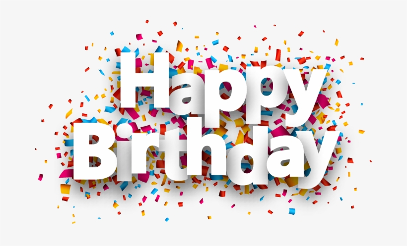 Happy Birthday Background Png Images - Birthday Png Text