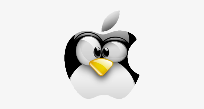 Apple Tux Penguin Art, Linux, Hockey, Clip Art - Apple Linux