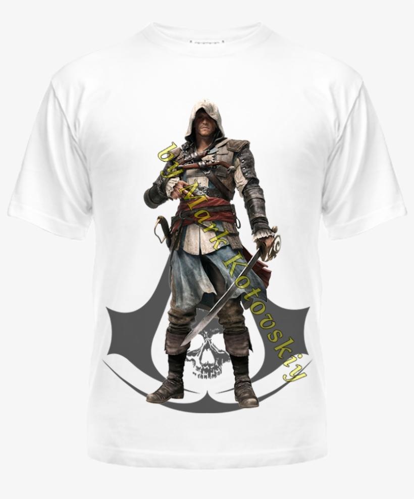 Zakazat Futbolka S Printom Edward Kenway Assassin S Creed Black