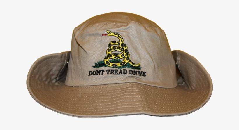 38280dfc24b62 Beige Gadsden Tea Party Dont Tread On Me Bucket Hat - Baseball Cap ...